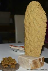 Knäckebrot mit Curry und Algen